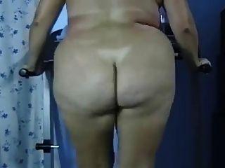 bbw butt naked fetten Arsch Laufband trainieren - negrofloripa
