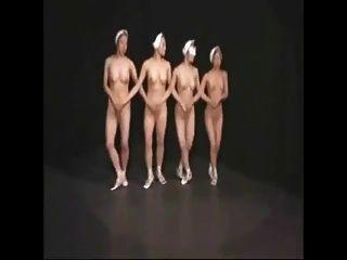 nackt Balletttänzer 1