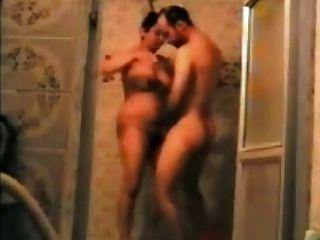 persisch Paar mit Dusche (zano mardeh irani zu Hamams)