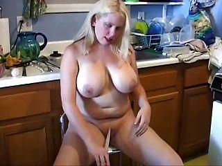Hausfrau Küche Spaß