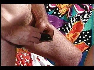 schwarz Oma riesig Haning Titten mit kleinen weißen Mann