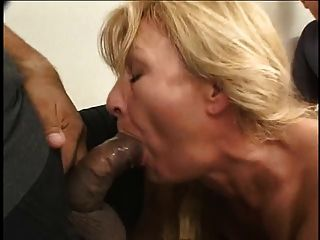 blonde reife anal
