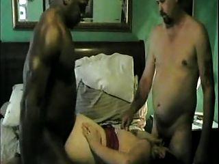 Hahnrei und zwischen verschiedenen Rassen Video # 2