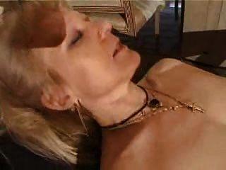 französisch rasierte blonde Oma pt3
