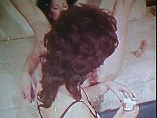Vintage Gold Sonderausgabe Mädchen nur 5 Szene 6