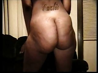 Ghetto booty- fette schwarze Cellulite ass- Blase Butt twerk