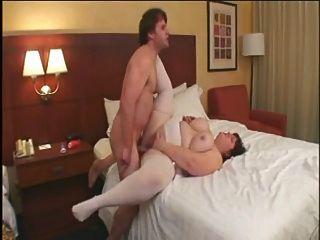 geilen Fick # 115 (vollbusig großen Hintern reifen ssbbw auf dem Hotelbett)