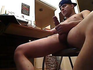 big dick langsam Ruck und cum