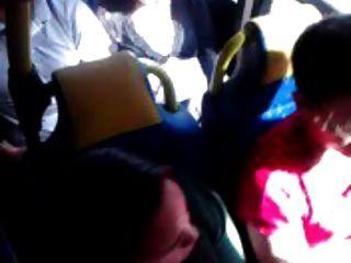 berühren in Bus