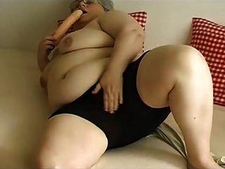 bbw Oma Masturbation