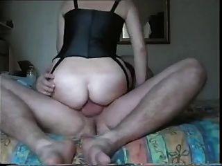 britiah anal Frau