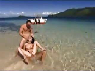 Trio am Strand von snahbrandy