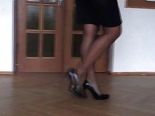 meine Beine in High Heels