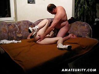 Amateur paar hausgemachte Hardcore-Action