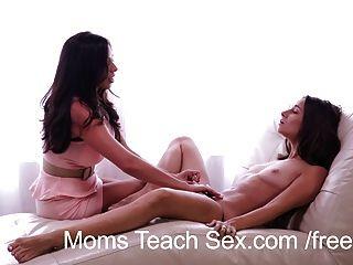 Mütter unterrichten Sex - Mama Fantasien Wirklichkeit werden