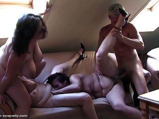 reifen Sex-Party mit Mütter und Jungen