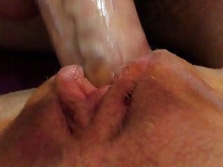 abgemolken Muschi saftige Pussy in cum schön Muschi bedeckt