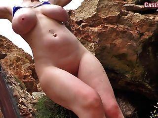 casey deluxe - blauen Bikini Tanz ... nude Version