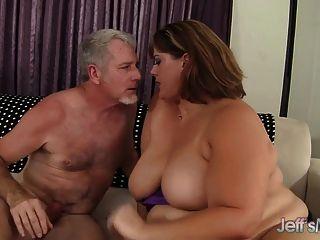 big sexy Frau erin grün fucks
