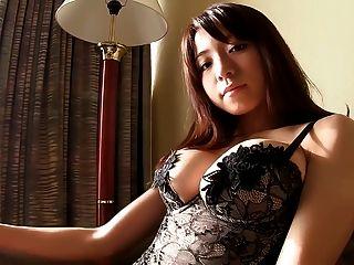 Japanische Mädchen schwarze Strümpfe