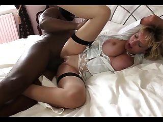 bbc für blonde Frau -bymn