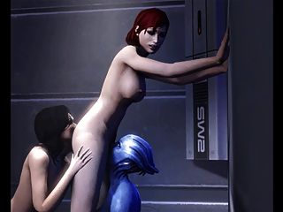 mass effect Hentai Kompilation