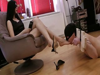 völlig Sklaven ihrer Füße