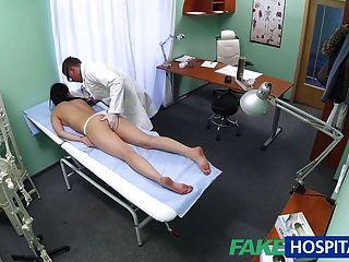 fakehospital sexy Patient mag es von hinten mit ihrem neuen