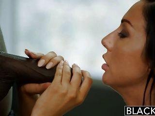 new york Escort Tiffany Brookes geschwärzt wird von großen Gesichts