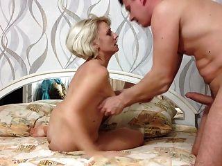Mann ficken russische haarige reife Frau