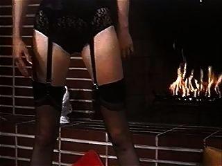 mein Feuer machen - Vintage Strümpfe große Brüste Striptease
