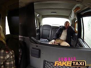 femalefaketaxi Fireman überraschen sprudeln Gesichts-Zusammenstellung