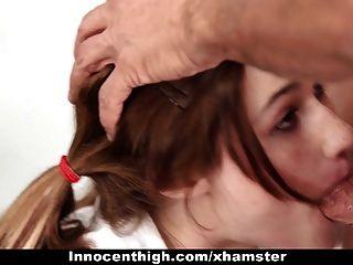 InnocentHigh - gebunden Schule Mädchen mag ältere Männer