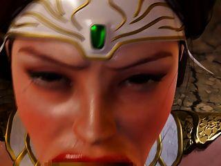 Mädchen wird von Goblins gefickt Gesicht