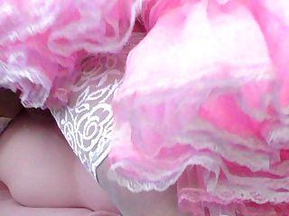Sissy Fick Puppe in rosa Kleid Sissy