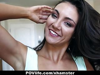 povlife - vollbusige Brünette fuck buddy sex tape