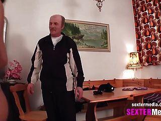 jenny und der alte Mann beim fick