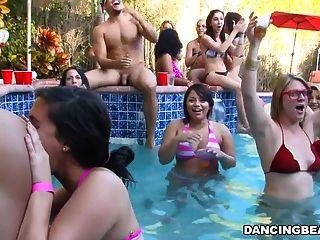 bachelorette Pool-Party