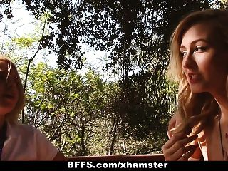 bffs - Sommercamp Berater Rekord lesbische Orgie