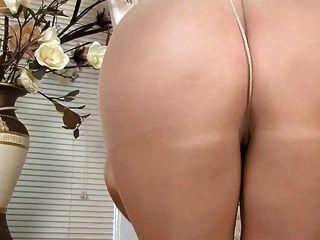 sexy britische Mädchen in Strumpfhosen