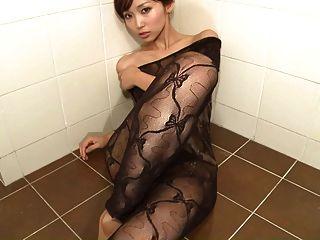 Risa froh, dass du gekommen - Lotion Spiel Körper Strumpf (nicht nackt)