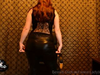 Wetlook Leggings Gehirnfick Anbetung Domina pov joi erziehung