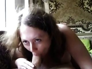 Big Tit Mature schluckt Sperma