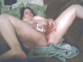 bbw doppelte penetration mit dildo