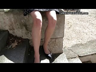 teen upskirt ohne panties