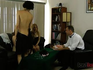Streifen Blackjack mit Mika, Sammy und Julie