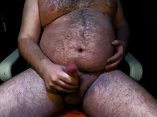 Bauch wichsen fetten Schwanz