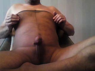 ein anderes Sperma in Strumpfhose