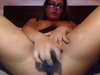 mollige und sprudelnde Babe Orgasmus Show