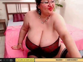 große titty web cam granny